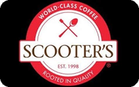 Scooters Gift Card - buy scooter s coffee gift cards at a discount giftcardplace