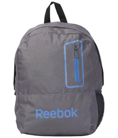 reebok gray unisex backpack buy reebok gray unisex