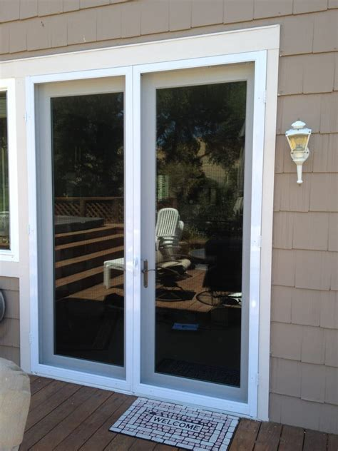 swinging screen doors double vista swinging screen door yelp