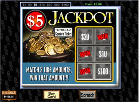 Free Online Scratch Off Tickets Win Real Money - online scratchies instant 5 free scratch card games