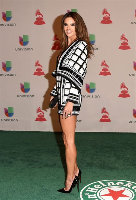 Alessandra Ambrosio Does Vegas by Alessandra Ambrosio At 2014 Grammy Awards In Las