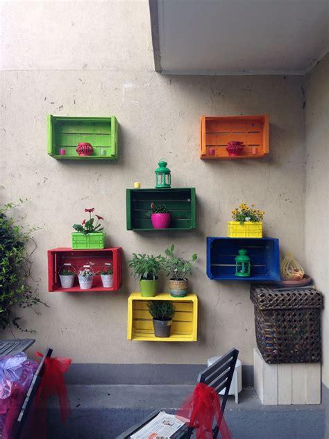 cassette per piante cassette della frutta porta piante idee casa