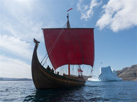 viking boats norway norwegian viking ship has reached north america norway today