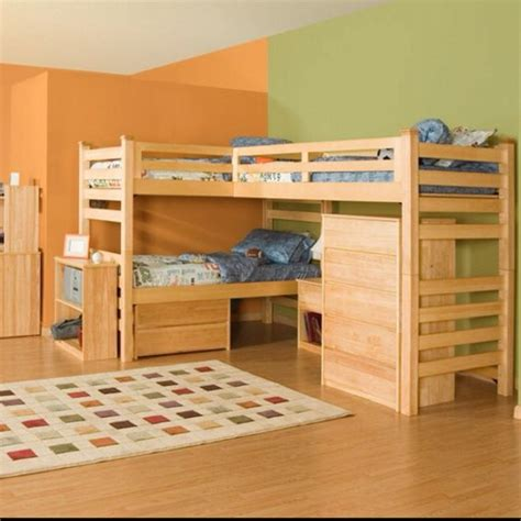 Astonishing Ideas For Pallet Loft Bunk Beds Wood Used Bunk Beds