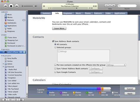 iphone contacts backup backup your iphone contacts to with itunes guides