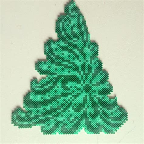 christmas trees trees and perler beads on pinterest