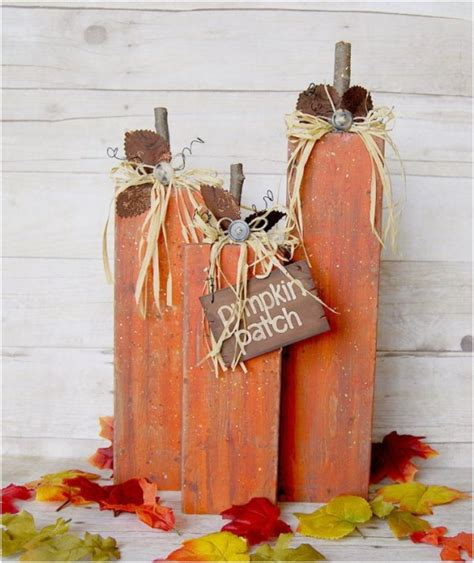 pumpkin home decor 10 lovely fall diy decorations with faux pumpkins
