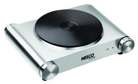 Burner Electic nesco sb 01 stainless steel electric burner 1500 watt kitchen dining