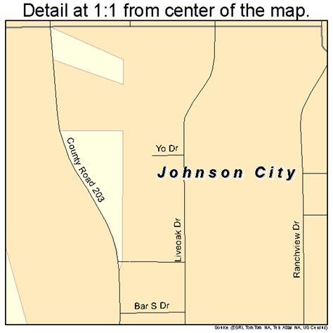 johnson city texas map johnson city texas map 4837780