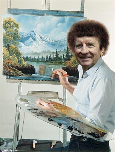 bob ross painting happy clouds sunday morning talk show thread 25 january 2015