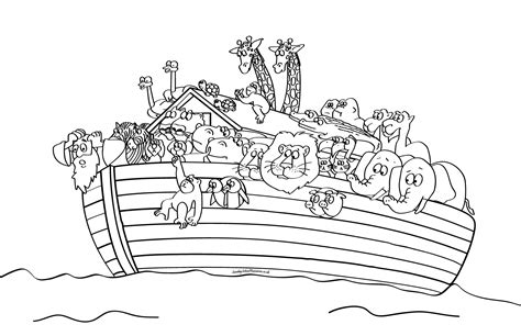 sunday school noah s ark bible coloring pages
