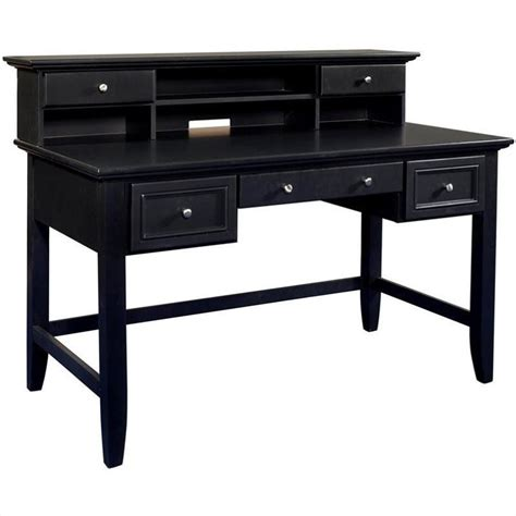 black writing desk with hutch writing desk with hutch in 5531 152