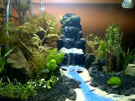 aquascape waterfall aquascape waterfall diy youtube