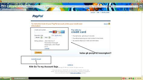 Membuat Account Paypal Gratis | fate to cheat cara membuat paypal gratis