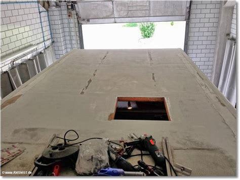 Wohnwagen Dach Lackieren by Der Amumot Truck Bekommt Ein Neues Dach Amumot