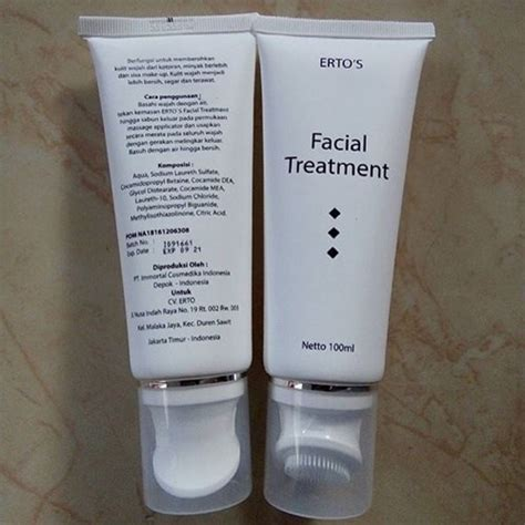 Treatmen Dari Ertos Care ertos treatment bpom produk ertos care