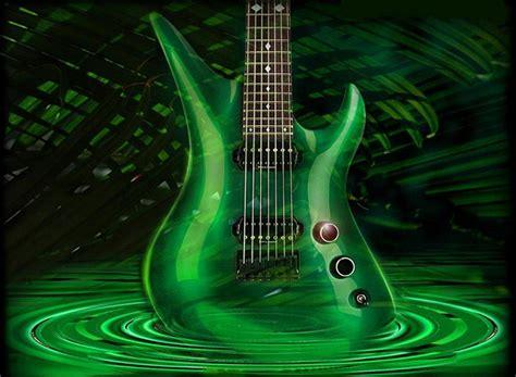 Wallpaper Green Guitar | best hd guitar wallappers osumwallpapers