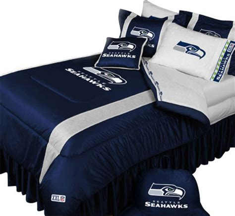 seattle seahawks bedding nfl seattle seahawks football queen full bed comforter set