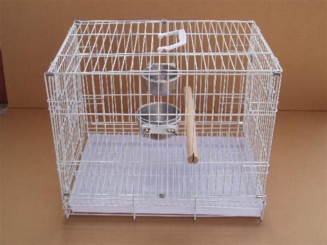 foldable parrot bird travel carrier cage crate