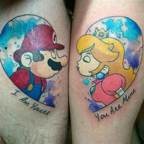 mario tattoo you instagram 16 cool and geeky mario tattoos tattoodo
