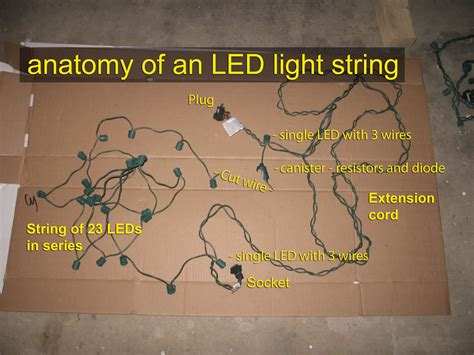 how to fix led christmas lights half out georgesworkshop fixing led string lights