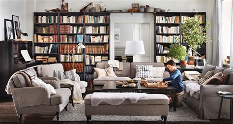 ikea interior design living room bookshelves interior design ideas