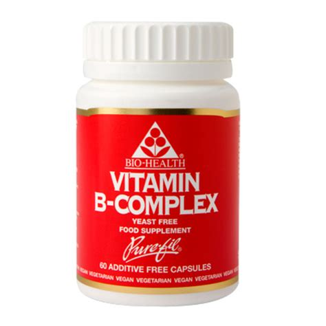 Suplemen Vitamin B Kompleks vitamin b complex vitamin supplement in vegetarian capsules