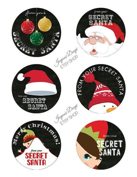 S Secret Torso Tag Label 17 best images about gift ideas for others on secret santa gifts fingerprint