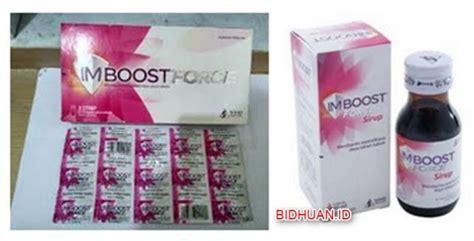 Suplemen Imboost imboost kapsul dan syrup manfaat dosis aturan