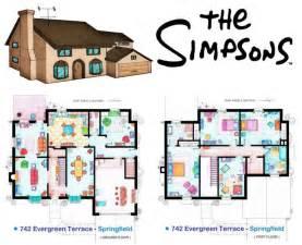 floor plan of the simpsons house dise 241 o de plata de la casa de los simpson vielka vasquez
