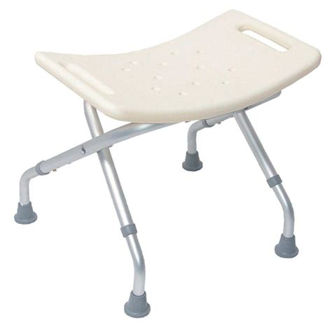 Waterproof Shower Stool by 16 In Resin Bath Stool In White Iss215 The Home Depot