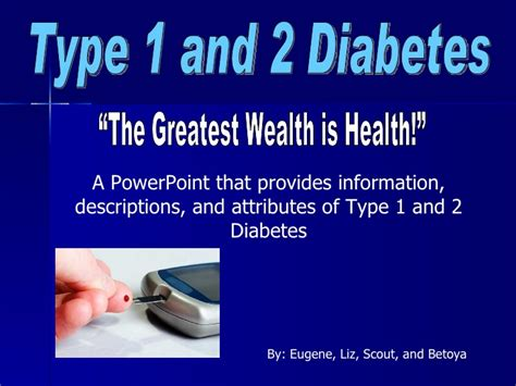 What Is Diabetes Powerpoint Presentation Diabetes Diabetes Powerpoint Template