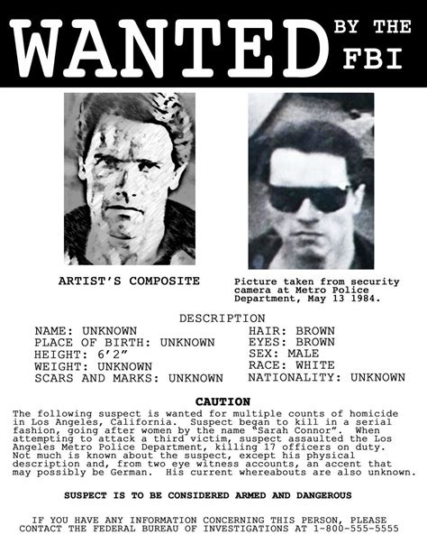 fbi wanted poster template real fbi wanted posters images