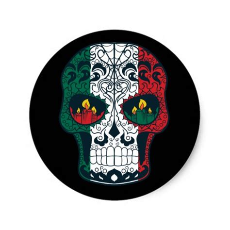 day of the dead colors mexican flag colors day of the dead sugar skull classic