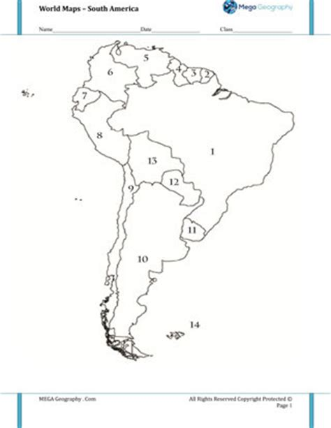 america rivers map quiz map quiz of south america worksheet mapping for