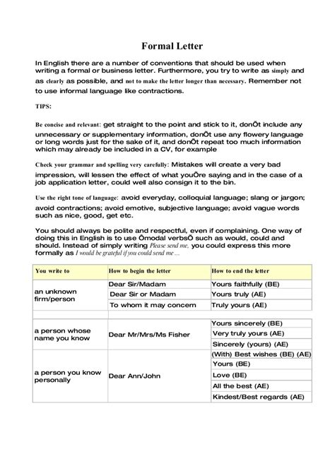 layout of a letter functional skills formal letter2
