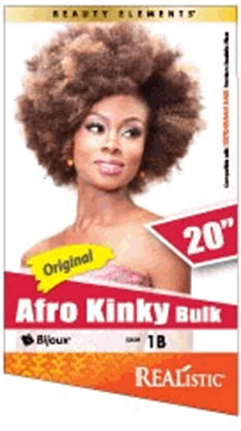 bijoux realistic afro hair 26 bijoux realistic synthetic hair afro kinky bulk 20 quot