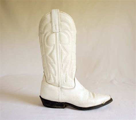 womans white boots s cowboy boots in white leather by capezio