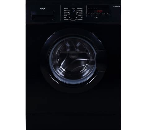black machine buy logik l712wmb16 washing machine black free delivery currys