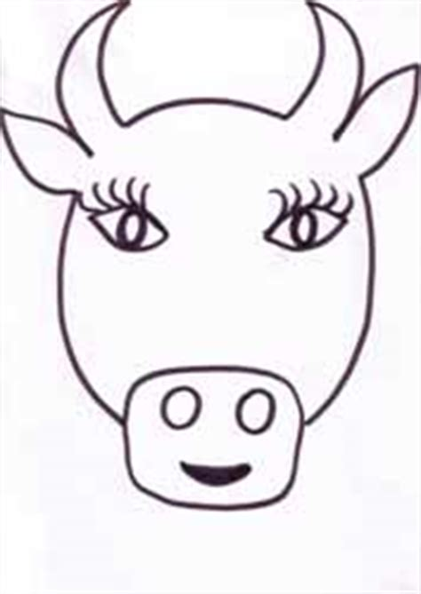 cow mask template pin cow masks template on