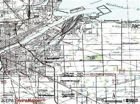map of oregon ohio oregon ohio oh 43611 profile population maps real