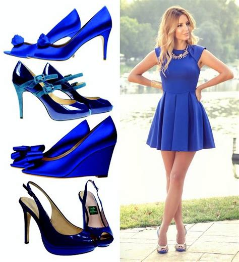 what color accessories with cobalt blue dress 10 pieces