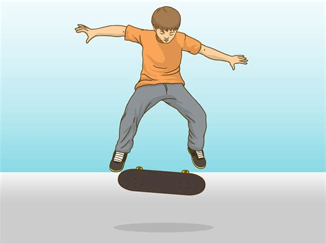 how to get comfortable on a skateboard how to kickflip on a skateboard 12 steps with pictures