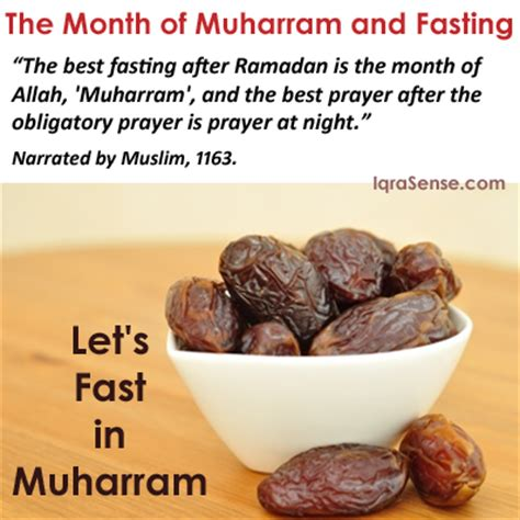 fasting month about the month of muharram sacred islamic month