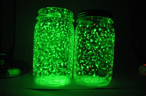 diy glow jars made with diy rechargeable glow jars