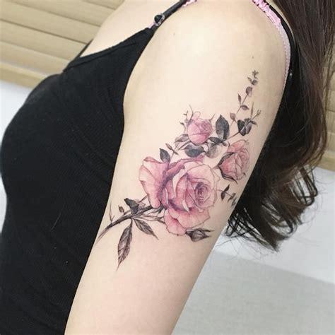 de tatuajes de rosas tatuajes de rosas ideas dise 241 os y significado