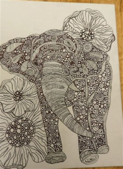 henna elephant by air421 on deviantart