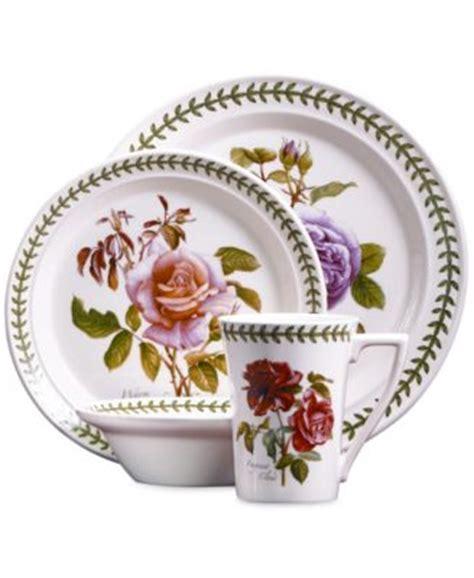Botanical Gardens Dishes Portmeirion Dinnerware Set Of 2 Botanic Garden Mugs With Spoons Dinnerware Dining