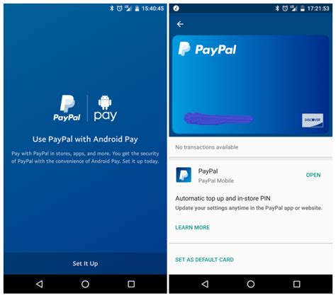Android Pay Max Limit by Android Pay S Support For Paypal Starts Rolling Out