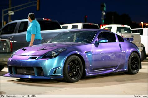 nissan 350z with chameleon paint benlevy